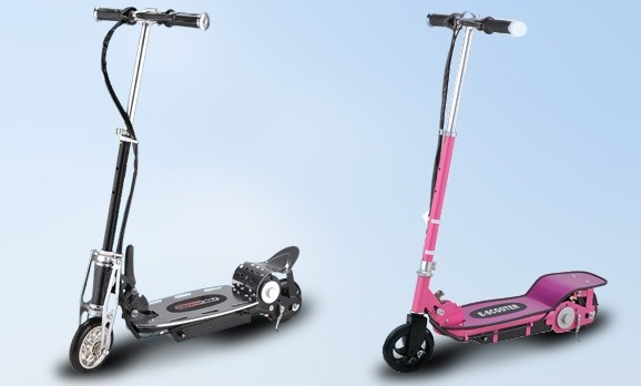 Pay R740 for Thunderbolt Motorized Scooter in black or pink.