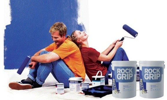 Paint a room for R399 with quality RockGrip brands from Jacks Paint