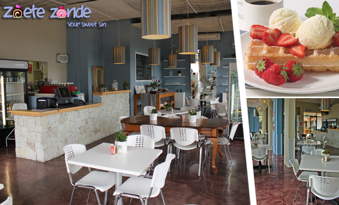 Best Desserts and Famous Waffles at Zoete Zonde – R200 for R100