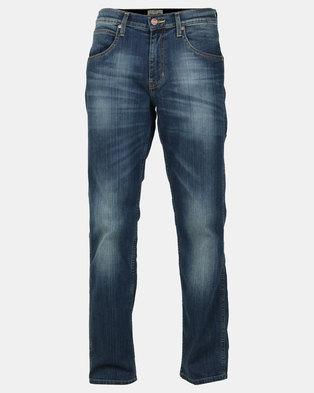 Wrangler Crank Streight Leg Stretch Jeans