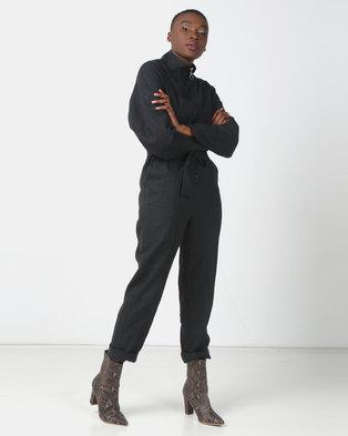 Paige Smith Boiler Suit Black