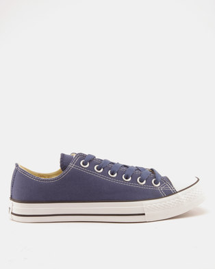 Soviet Viper Fashion Basic Canvas Low Cut Lace Ups Prussian Blue