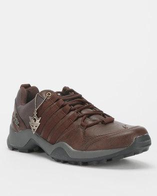 Urbanart Kwesta Bolt 2 Lace Up Sneakers Choc