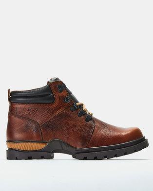 Bronx Men Trap Boots Oatmeal
