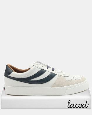 Superga Seattle Leather 923 Sneakers White/Blue