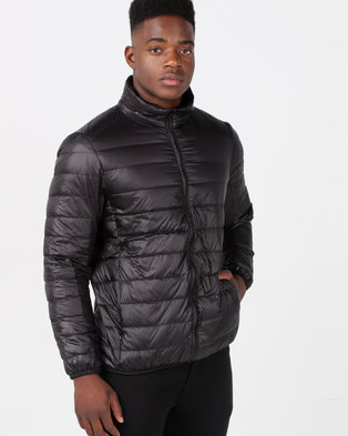 Utopia Down Filled Puffer Jacket Black