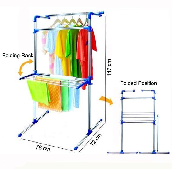 Multi Purpose Drying Rack - Clothing-Deal