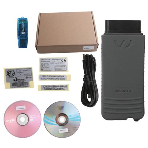 VAS 5054A VW ODIS V2.0 Support UDS Protocol with Bluetooth Multi-language Diagnostic Tool(Grey)