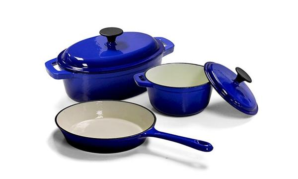 Cast Iron Set Fine - Classic - Living 5pc