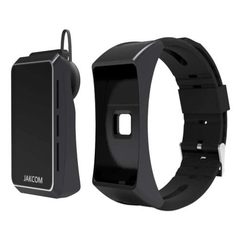 JAKCOM B3 Bluetooth Headset Sports Smart Bracelet for Android / iOS Support Heart Rate / Pedometer / Reminder Call / Music Play / Sleep Monitor(Black)