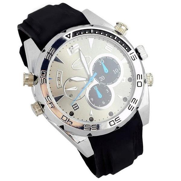 8GB HD 1080P Spy Watch with IR Night Vision and Hidden Camera-Deal