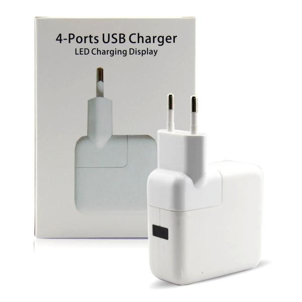 Four Port USB AC Charger-Deal
