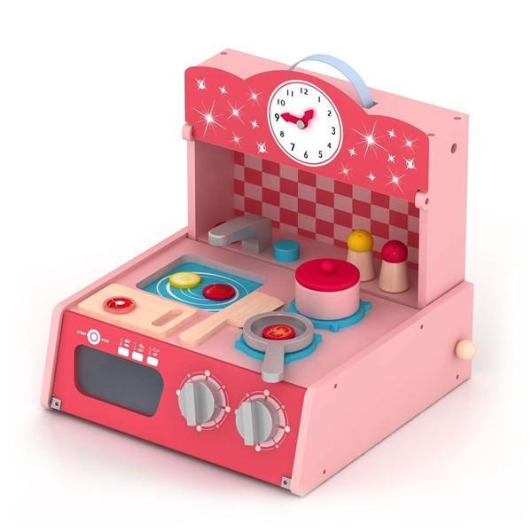 Toy - Wooden Little Kitchen-Deal