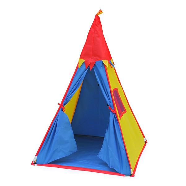 Tent T-Pee Red Blue and yellow-Deal