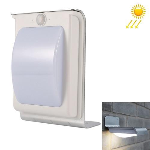 3.7V 0.5W Solar-powered Motion Body Sensor 16 LED Light Outdoor Wall Light(Light Color: White)