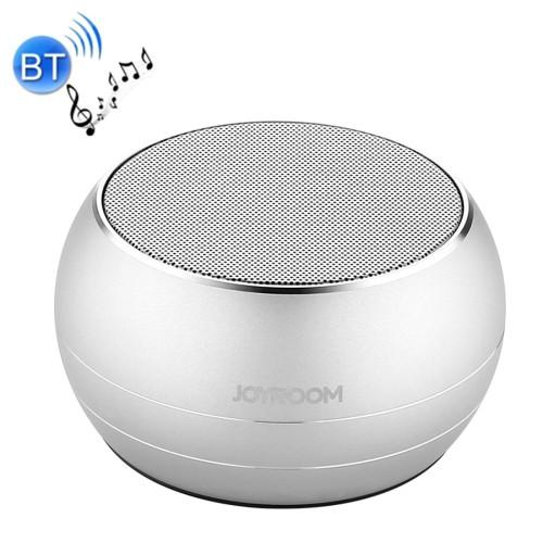 JOYROOM JR-M08 Cannon Metal Wireless Bluetooth Speaker with Light Support Bluetooth Call & TF Card Music Play (Silver)