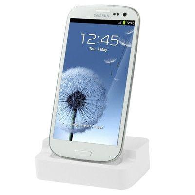 Dock Charger for Samsung Galaxy S III / i9300 (White)