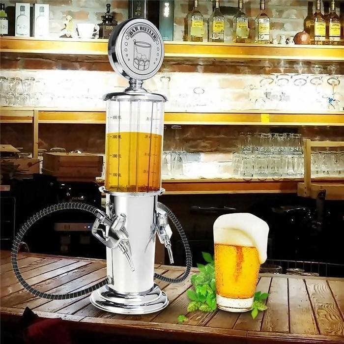 Liquor Dispenser Vintage Gas Pump