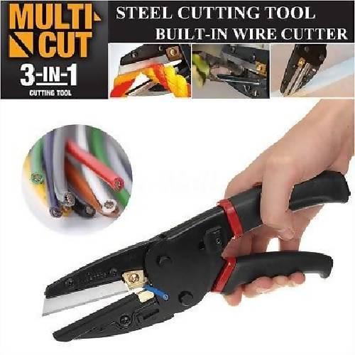 Multi-Cut 3-in-1 Cutting Tool