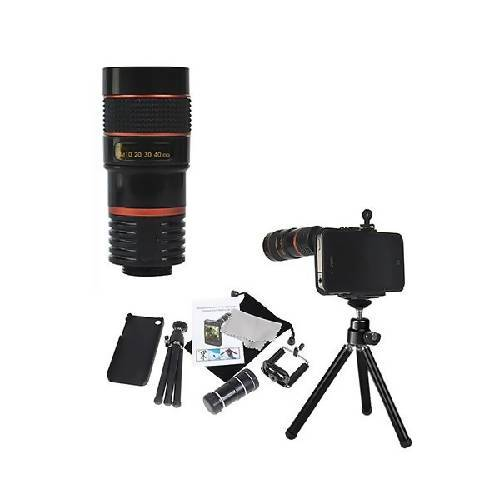 I-Phone Camera Kit - Black (C 4)