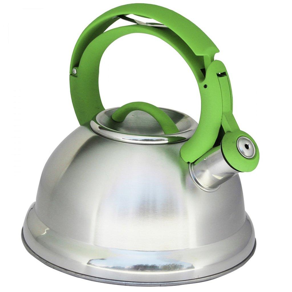 Kettle - Fine Living Whistling - Green