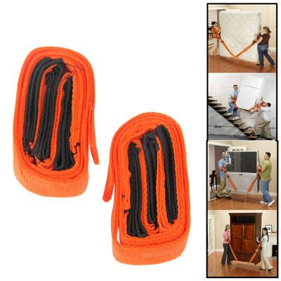 Home Delivery Carry Easier Forearm Moving Straps(Orange)