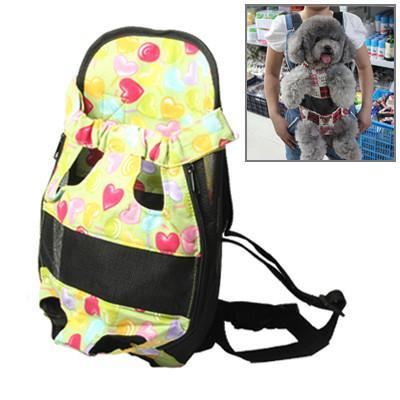 Small Size Pet Carrier Double-shoulder Bag for Pet Cat Dog Random Color Delivery