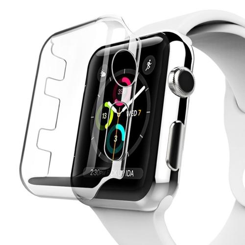 For Apple Watch Series 2 42mm Transparent PC Protective Case