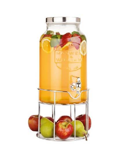Maxwell & Williams Olde English Beverage Dispenser & Stand, 5.6 Litre - Maxwell & Williams
