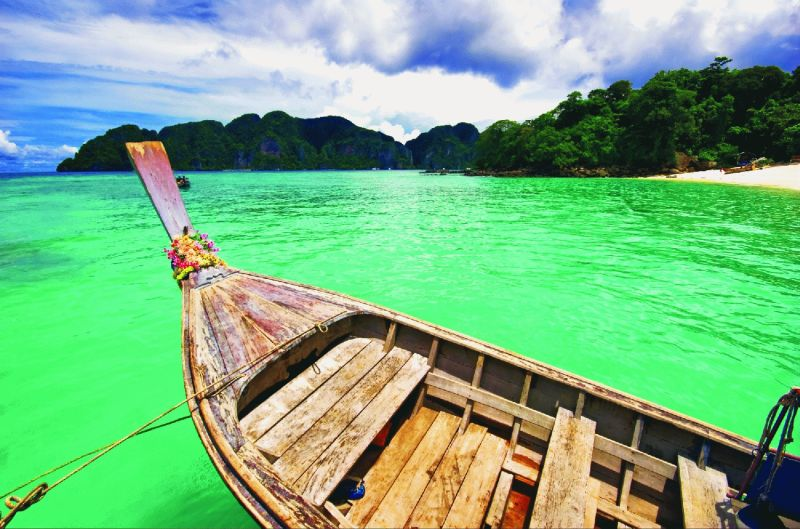 Thailand - Island Hopping : 5 Star ex Durban : Let's Explore! Return flights from Durban to Phuket. Approximate taxes. All transfers. 3 nights' accommodation in Phuket at the 5-star Movenpick Resort & Spa Karon in a Superior Room. Phuket Island Tour. 2 nights' accommodation in Phi Phi at the 5-star