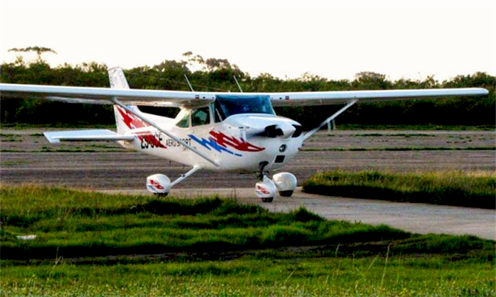 30-Minute Introductory Cessna Ride with a Pilot for One for R1569 with Aerosport