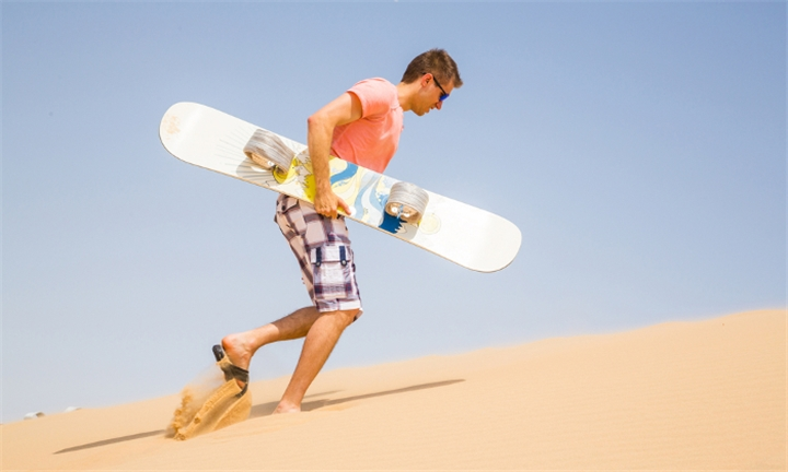 Sandboarding Experience from R379 at Sidewinder Adventures