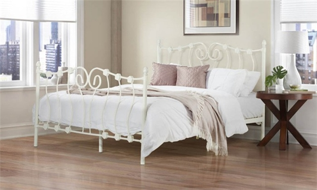 Amelia Steel Bed Base for R2 699 Including Delivery