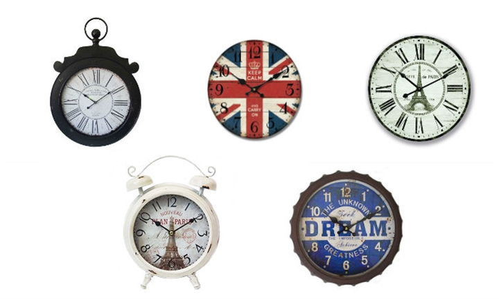 Selection of Wall Clocks From R239 incl Delivery