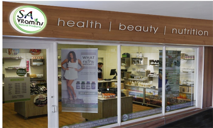 Selection of Value Vouchers for SA Vitamins' Garsfontein Store