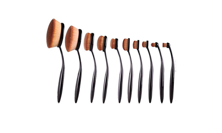 Exclusive 10 Piece Make Up Brush Set For R349 incl Delivery