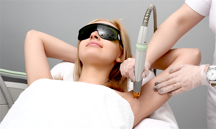 Three Pain Free Laser Hair Removal Sessions for a Small, Medium or Large Area from R299 at the Slimming and Wellness Clinic