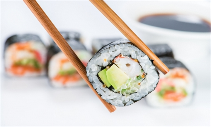 Selection of Sushi Platters from R119 at 169 On Long