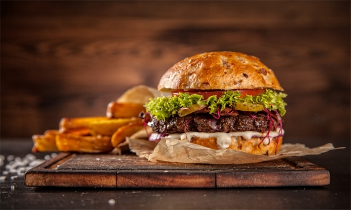 R89 for 300g Gourmet Mexican Burgers with Chips for 2 People at Sangrita Tequila Bar