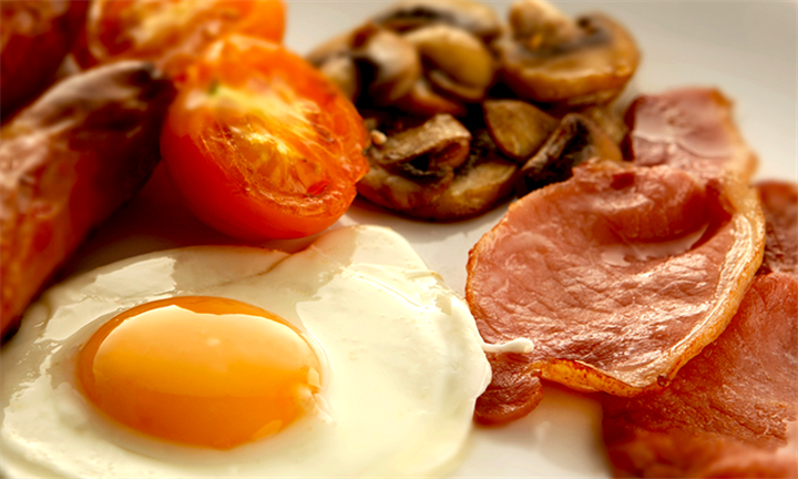 Breakfast with a Beverage Each from R49 at The Kitchen Restaurant at The Kimeberley Hotel