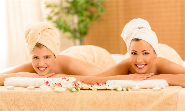 60-Minute Massage for Two from R299 with Optional Facial at Lovely Nails and Beauty Spa