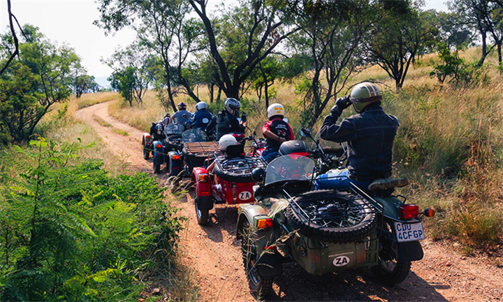 Five-Hour Cradle of Humankind Sidecar Day Ride for Two for R1799 with Ural Sidecar Tours