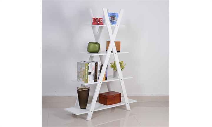 Assorted 4 Tier Wooden Ladder Shelf for R1599 incl Delivery