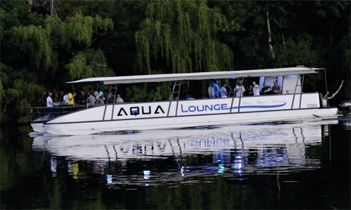 1 Hour boat cruise on the Vaal River from R199 for two people with Aqua Lounge Cruises