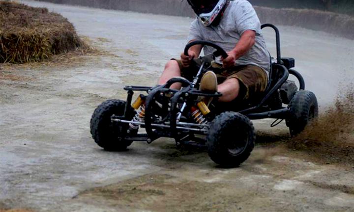 R199 for 10 Laps each of Off Road Go Karting for Two @ Drift Freaks