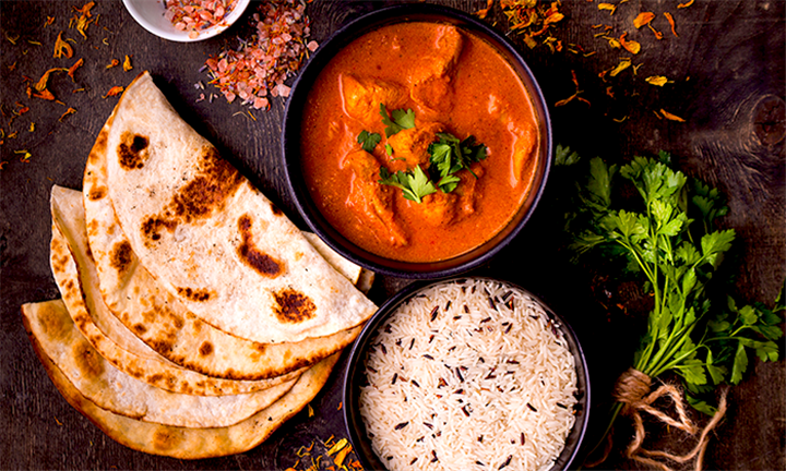 Any Lamb or Chicken Main with a choice of Naan or Rice and a Milkshake or Soft Drink for Two from R199 at Tamarind Of India (Halaal)