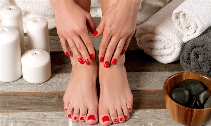 Relaxation Manicure or Pedicure from R99 at Revive Beauty Spa