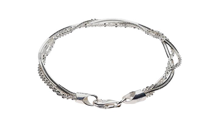 925 Sterling Silver Lady's Fancy Bracelet for R199