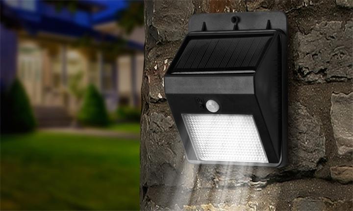 Super-Bright SIX LED Solar-Powered Motion Sensor Light R299