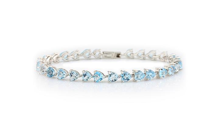 Sterling Silver 14CT Topaz Bracelet for R1199 incl delivery